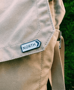 North - Enamel Pin Badge