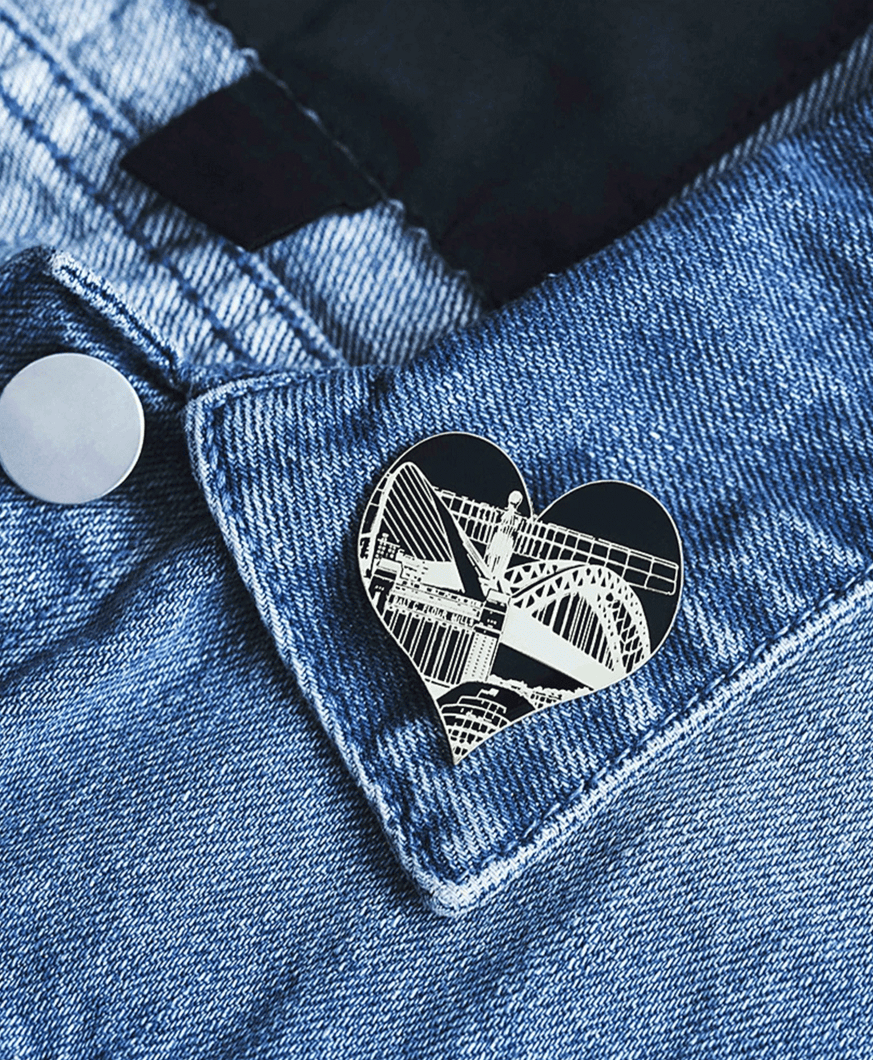 Newcastle - Enamel Pin Badge