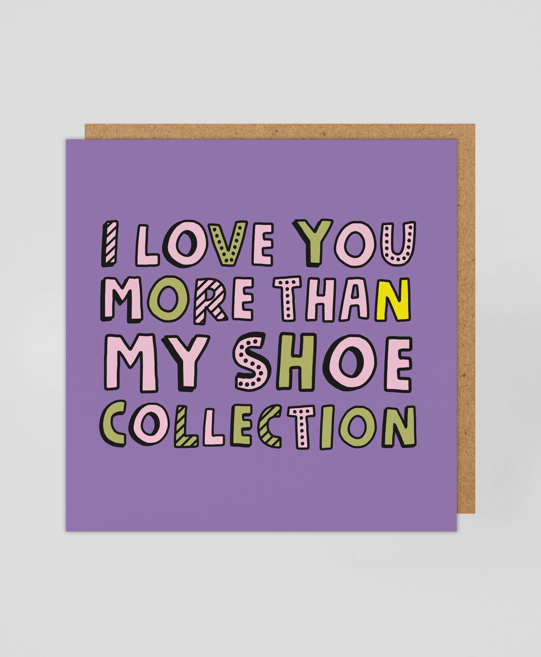 Shoe Collection - Greetings Card