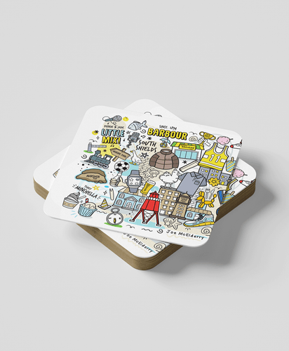 South Shields (Set of 2) - Coasters