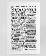 Load image into Gallery viewer, Newcastle - Tea Towel
