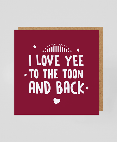 Toon & Back (R) - Greetings Card