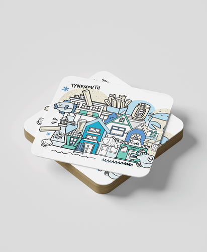 Tynemouth (set of 2) - Coasters