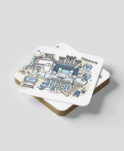 Load image into Gallery viewer, Tynemouth (set of 2) - Coasters