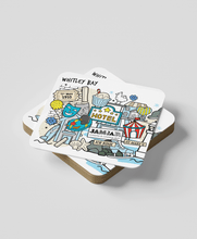 Load image into Gallery viewer, Whitley Bay (set of 2) - Coasters