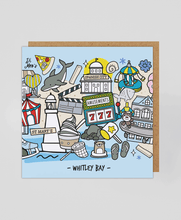 Load image into Gallery viewer, Whitley Bay - Greetings Card
