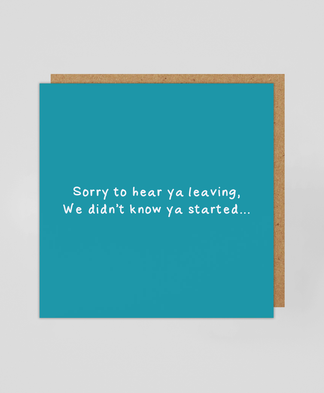 Sorry To Hear - Greetings Card