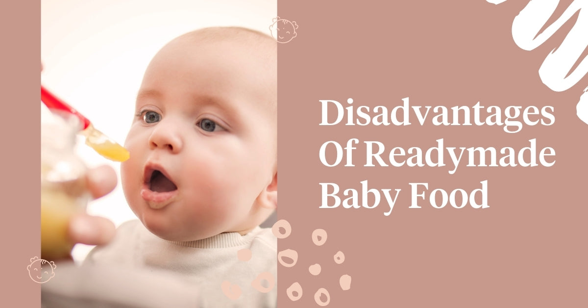 Disadvantages of readymade baby food