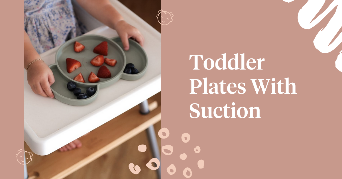 Toddler Plates With Suction