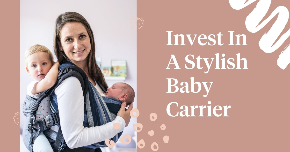 Invest In A Stylish Baby Carrier