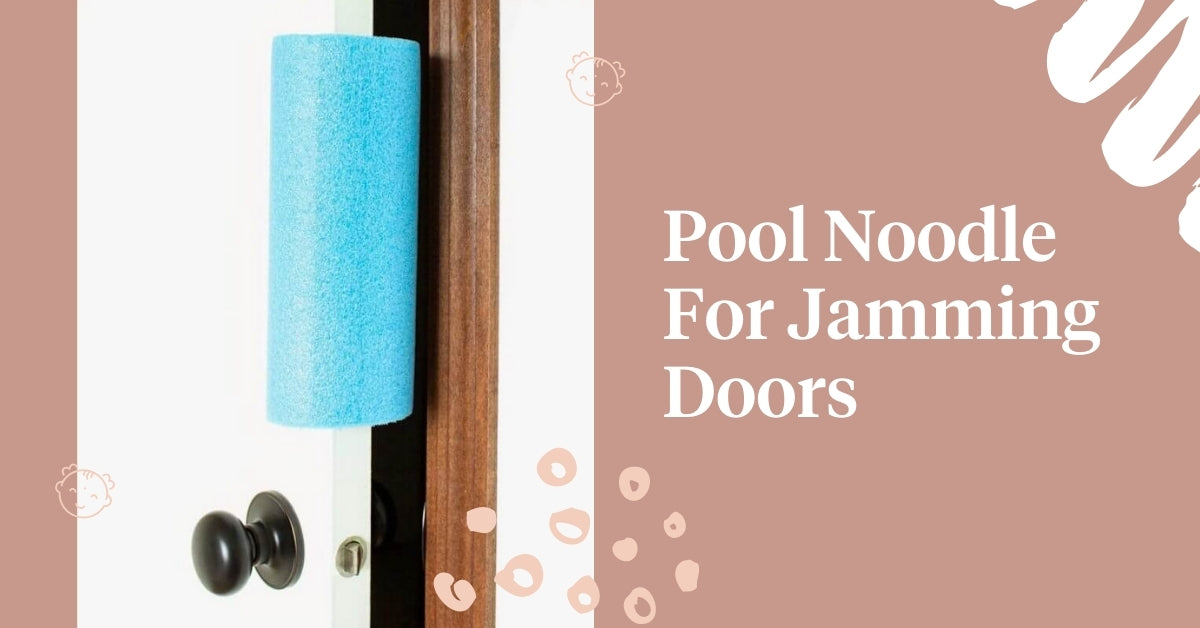 Pool noodle for jamming doors