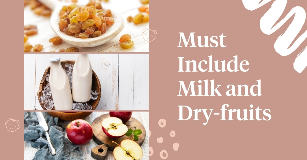 Include Milk and Dry-fruits