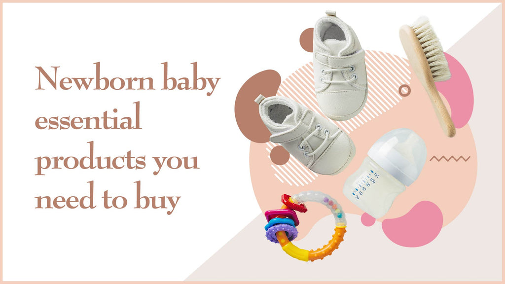 Newborn baby essential products