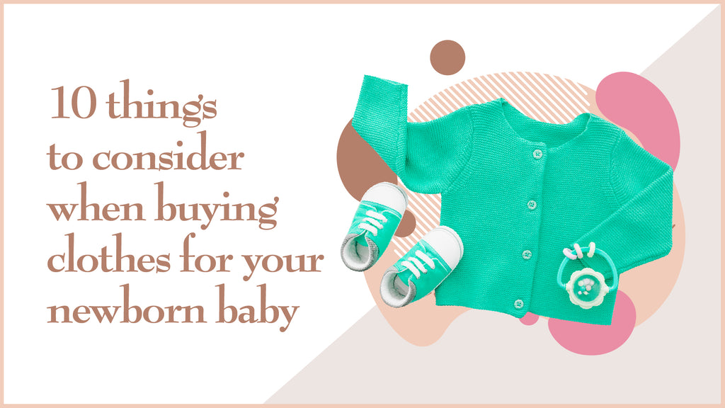 Buying Clothes for Your Newborn Baby