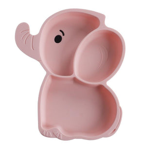 Ellie the Elephant Silicone Suction Plate