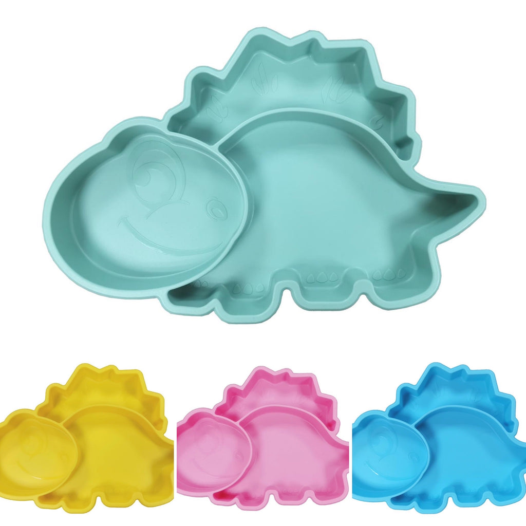 Dinosaur Silicone Suction Plate