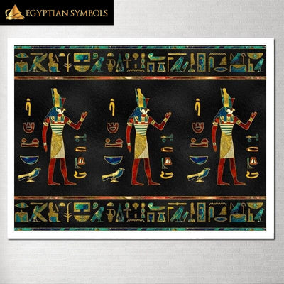 Egyptian Painting Printed in HD