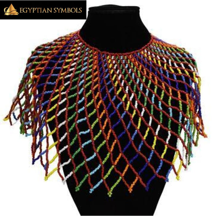 African Ethnic Handmade Necklace Collar