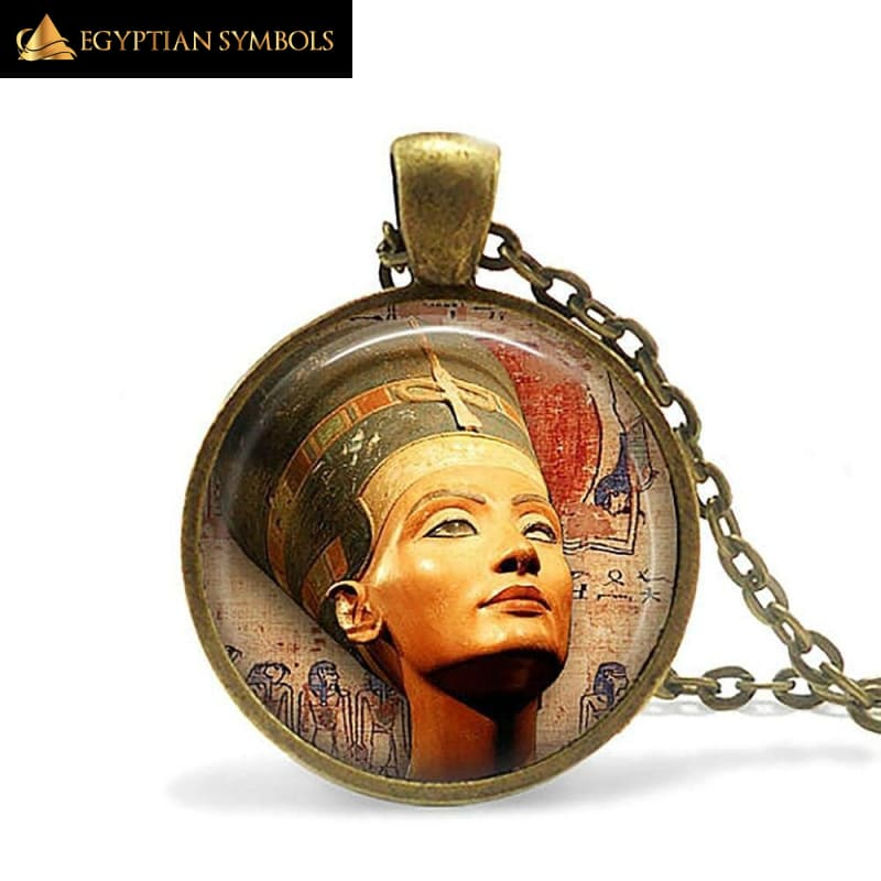 Eye of Horus Necklace Dome