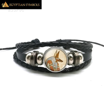 EGYPTIAN BRACELET - PHARAOH BLACK UNIQUE AND PERSONAL