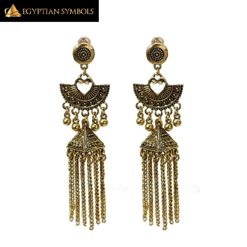 Vintage Long Tassels Earring
