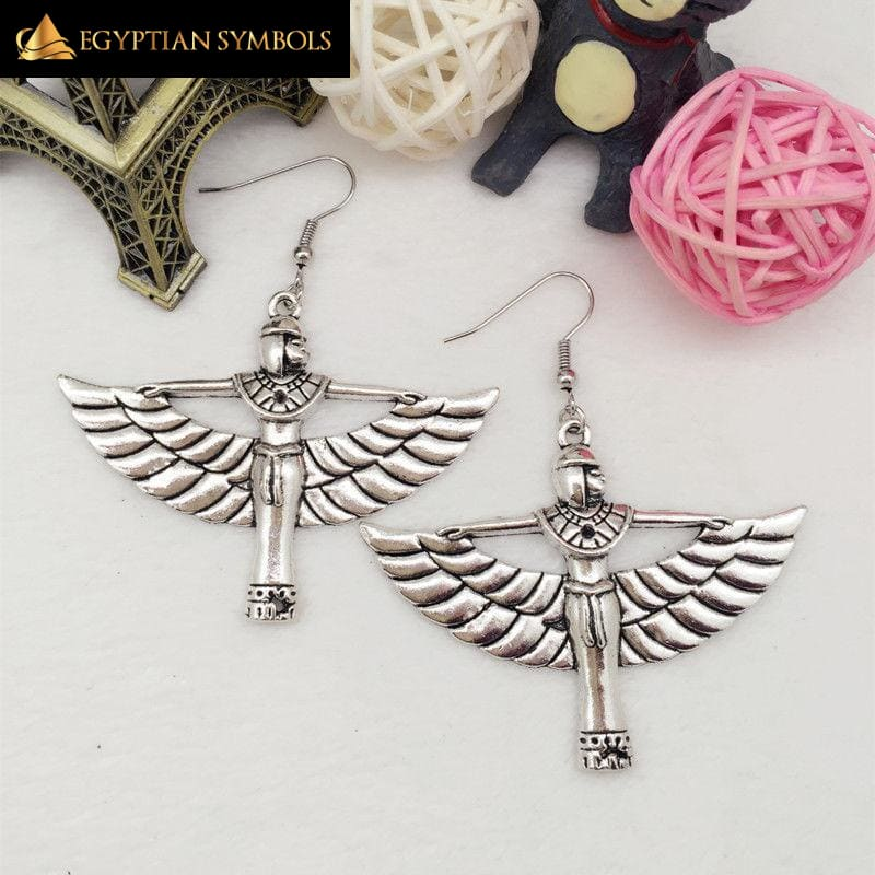Egyptian Queen Charm Earrings
