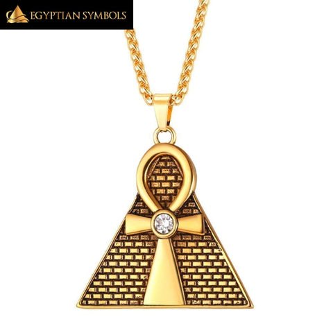 Ancient Pyramid Necklace