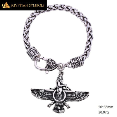 Ancient Charm Bracelet - Egyptian Sphinx