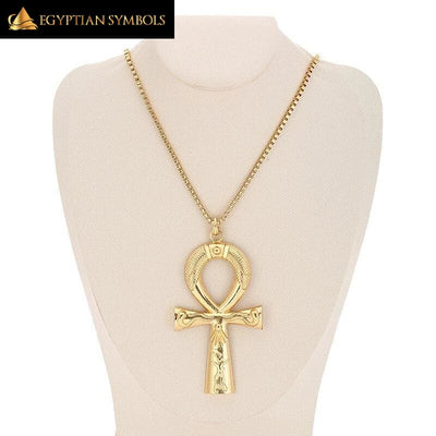 Ancient Ankh Cross Necklace