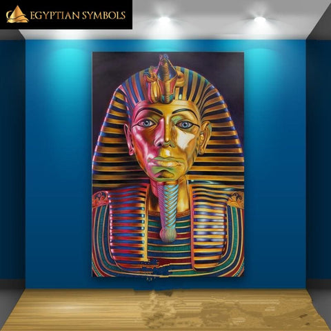 Egyptian Painting - Pharaoh Street Art