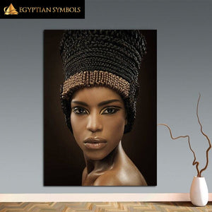 Egyptian Painting in HQ Ployester canvas