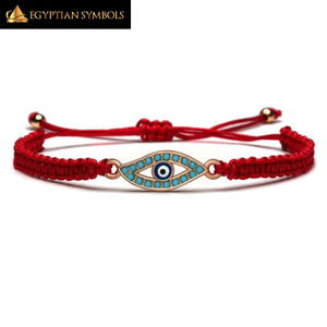 EGYPTIAN EYE CHARM BRACELET
