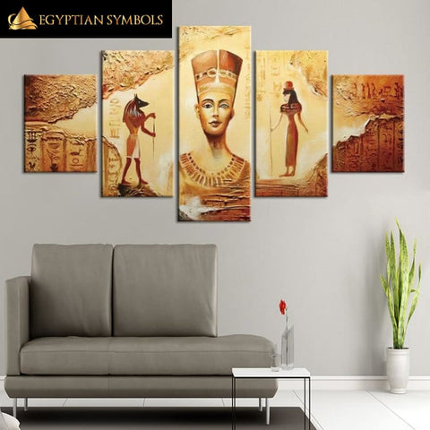 Painting the style Egypt Antique