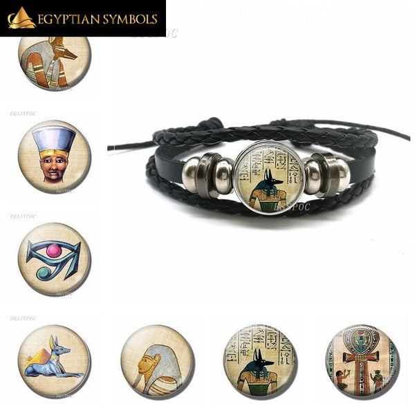 Egyptian Bracelet - Anubis Highly delicate