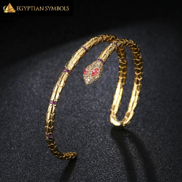 Luxury Egyptian Snake Bracelet new trend