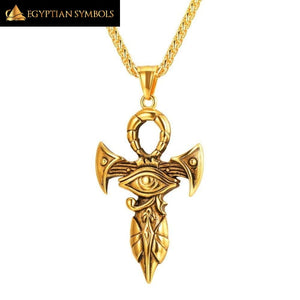 Eye Of Horus Ankh Necklace - Unique design