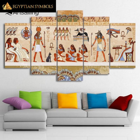 Egyptian Kingdom Painting