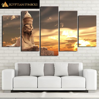 Egyptian painting 5 pieces