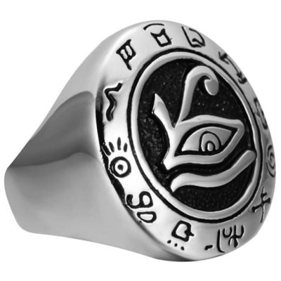 EGYPTIAN RING - Eye of Horus Talisman