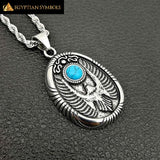 Vintage Egyptian Horus Necklace
