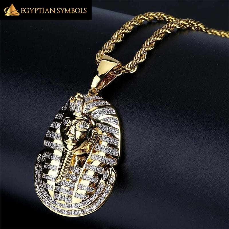 Egyptian Pharaoh Necklace - Zircon High Quality