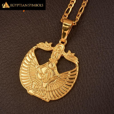 Egyptian Ankh Cross Goddess Necklace