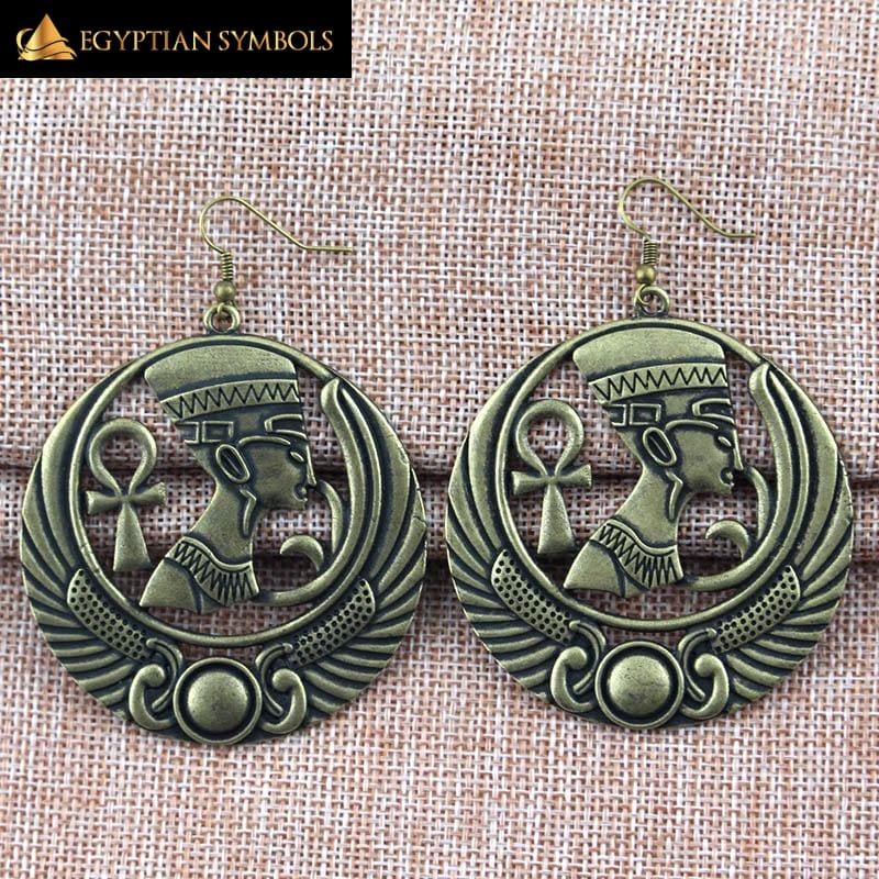 Egyptian Earrings in honor of Pharaoh