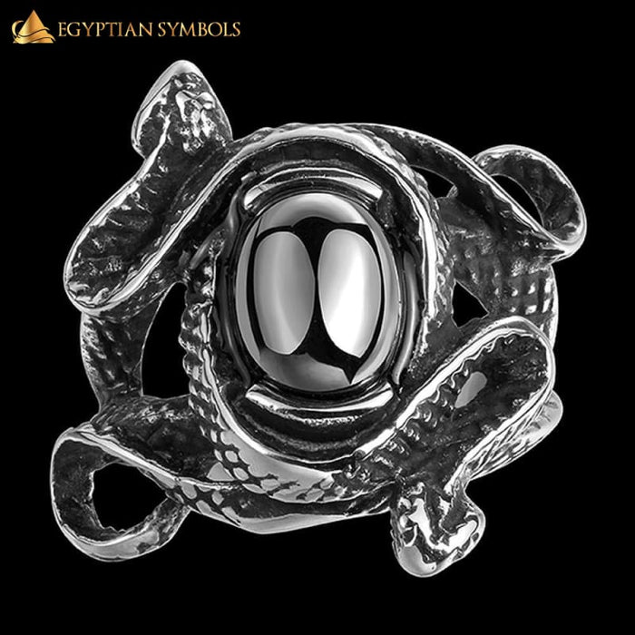 egyptian-snake-ring