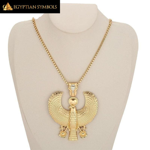 Egyptian Horus Bird Falcon Necklace