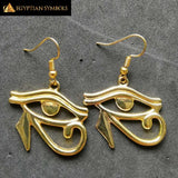 Silver Plated Egyptian Earrings