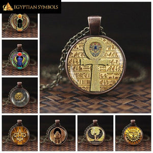 Egyptian Symbol of Strength Necklace