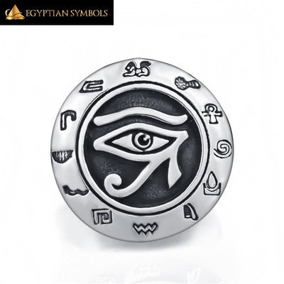 EGYPTIAN RING - Eye of Horus Ra