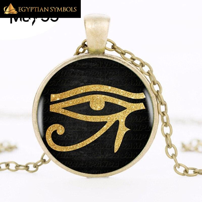 Ancient Egyptian Eye Necklace