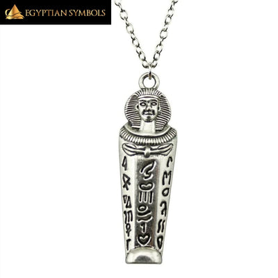 Egyptian Pharaoh Necklace - Patterned finish